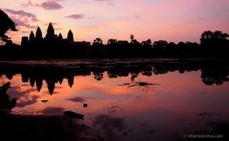 Anna McPherson (@itstartedinasia) of Australia showcased a beautifully shot sunset of Angkor Wat: https://twitter.com/itstartedinasia/status/481156919998955520/photo/1