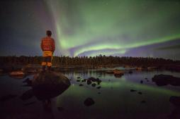 A Pietikianen of Aurora_Zone used the water to reflect a gorgeous sky