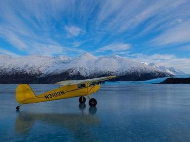 Dan Bailey (@Danbaileyphoto) of the USA talked of mountain biking throughout Europe, but it's this small plane that takes him soaring over Alaska to photograph it that makes us all jealous! https://twitter.com/Danbaileyphoto/status/491306732849594369/photo/1