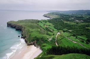 @ElToroBlog of Spain discovered the green hills on the country's northern coast: https://twitter.com/ElToroBlog/status/511592673510440960/photo/1