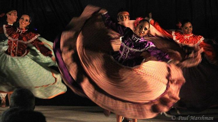 Paul Marshman (@Travel_boomer) of Canada shot these colorful Mexican dancers for motion in action: https://twitter.com/Travel_boomer/status/521741454989729792/photo/1