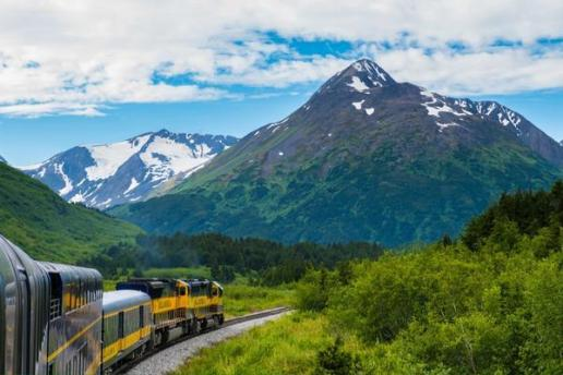 Train travel is indeed awesome, and this photo of it in Alaska (by @RoadtripC) proves that point well! https://twitter.com/RoadtripC/status/496377331619885056/photo/1