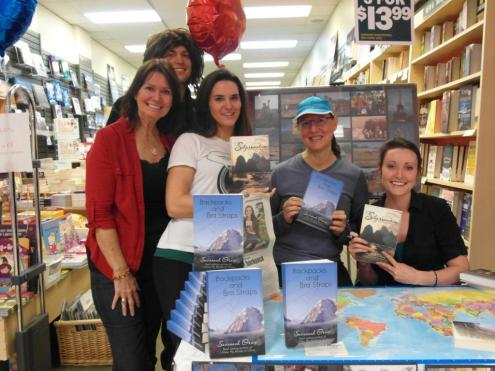 Co-host Savannah Grace (@Sihpromatum) of Canada released her second book--AND visited her 100th country: https://twitter.com/Sihpromatum/status/552202550024622080/photo/1