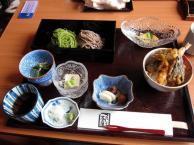 """Tamara (@turtlestravel) of the USA would eat Japanese cuisine for the rest of her life if forced to, and from the looks of this spread, we understand why! Says co-host @travellingmolly: """"That's more like a work of art than a meal!"""" https://twitter.com/Turtlestravel/status/483688249894764544/photo/1"""