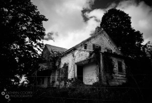 A haunted house, upstate New York