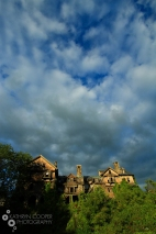 Haunted mansion, Millbrook, New York