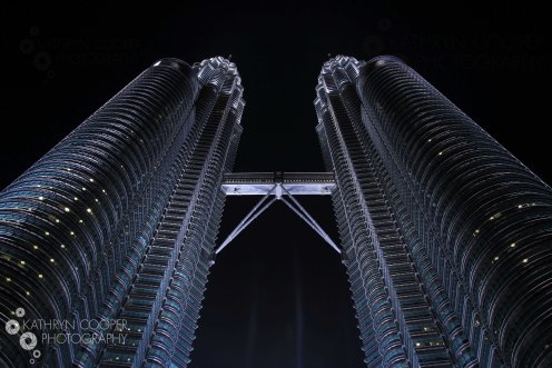 The gorgeous and perfectly symmetrical Petronas Towers, KL, Malaysia