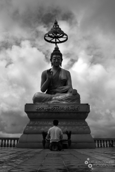 The largest Thai Buddha for hundreds of kilometeres...