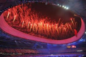 Co-host Shane Dallas (@TheTravelCamel), currently in Zambia, has been to three Olympic Games. Here he shows off the Beijing Opening Ceremony. How neat! https://twitter.com/TheTravelCamel/status/486568430787891200/photo/1
