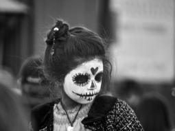 """Erick (@PathlessTravels) of the USA posted a shot from Mexico during the famous """"Day of the Dead"""" holiday: https://twitter.com/PathlessTravels/status/544586230017433602/photo/1"""